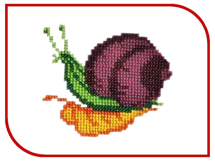 Набор для творчества Бисеринка Улитка для вышивания бисером Б-0070