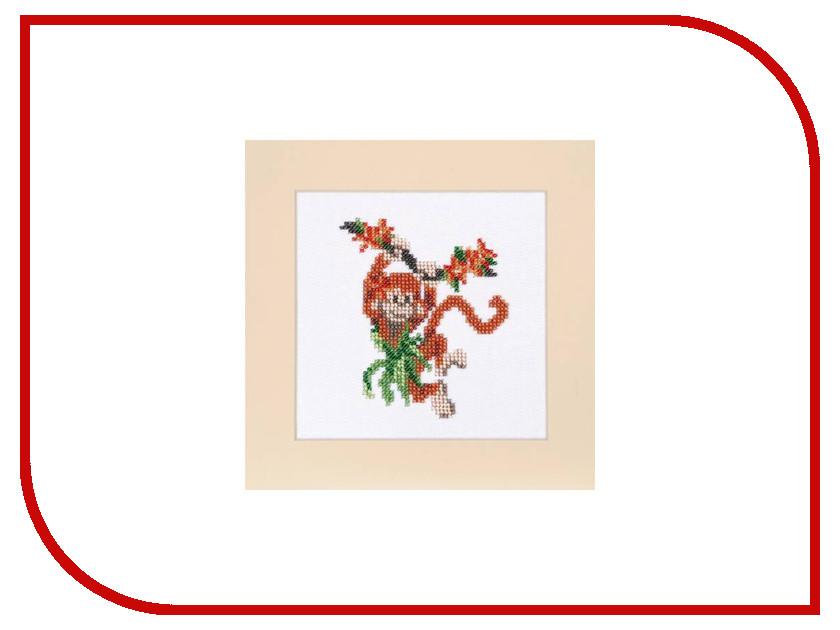 Набор для творчества Бисеринка для вышивания бисером Б-0077 набор для вышивания бисером бисеринка солнышко 9 см х 11 см
