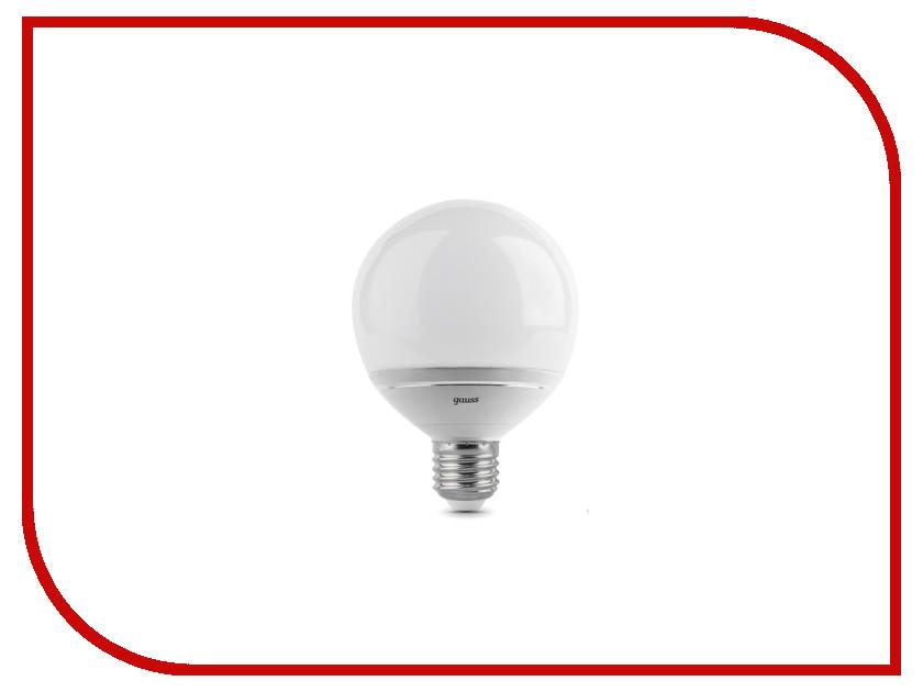 Лампочка Gauss LED G95-dim Crystal Clear 14W E27 4100K EB136102214-D<br>