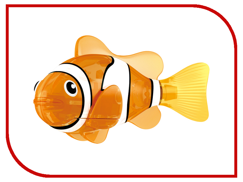 Игрушка Zuru Robofish Красная Сирена 2541C игрушка zuru robofish акула grey 2501 5