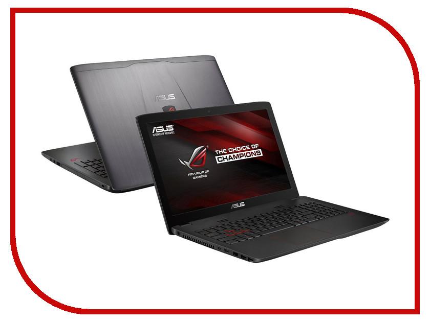 Ноутбук ASUS ROG GL552VW-CN481D 90NB09I3-M05700 (Intel Core i7-6700HQ 2.6 GHz/8192Mb/2000Gb/DVD-RW/nVidia GeForce GTX 960M 2048Mb/Wi-Fi/Cam/15.6/1920x1080/DOS)<br>
