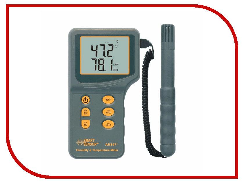 Термометр Smartsensor AR847 измеритель освещенности smartsensor ar813