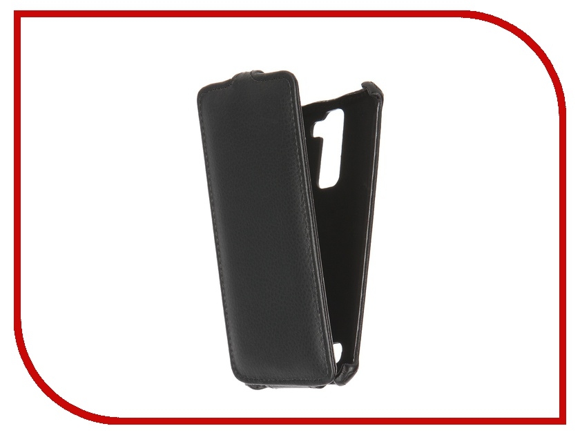 Аксессуар Чехол LG K8 K350E Gecko Black GG-F-LGK8-BL<br>