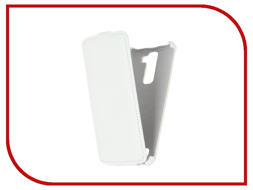 Аксессуар Чехол LG K8 K350E Gecko White GG-F-LGK8-WH