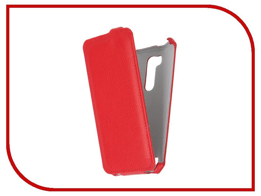 Аксессуар Чехол ASUS ZenFone Go ZB551KL Gecko Red GG-F-ASZB551KL-RED<br>