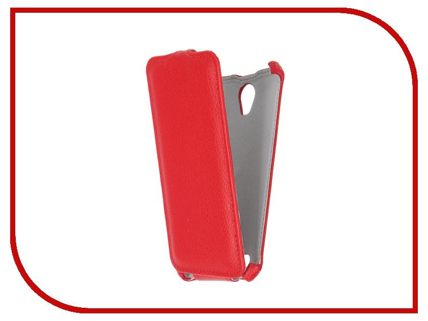 Аксессуар Чехол ASUS ZenFone Go ZC500TG Gecko Red GG-F-ASZC500TG-RED<br>