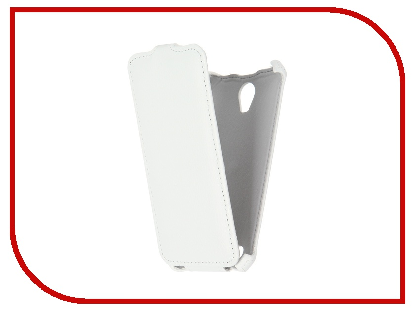 Аксессуар Чехол ASUS ZenFone Go ZC500TG Gecko White GG-F-ASZC500TG-WH<br>