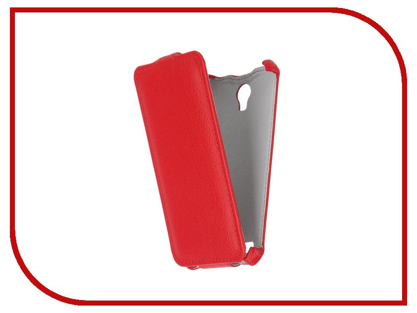 Аксессуар Чехол ASUS ZenFone Go ZC451TG Gecko Red GG-F-ASZC451TG-RED<br>