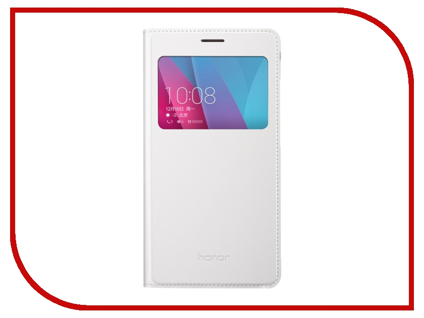 Аксессуар Чехол Huawei Honor 5X Smart Cover White<br>