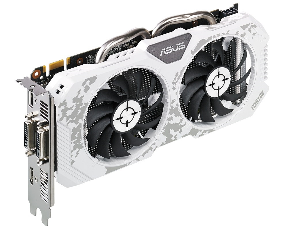 Видеокарта ASUS GeForce GTX 950 1165Mhz PCI-E 3.0 2048Mb 6610Mhz 128 bit 2xDVI HDMI HDCP ECHELON-GTX950-O2G