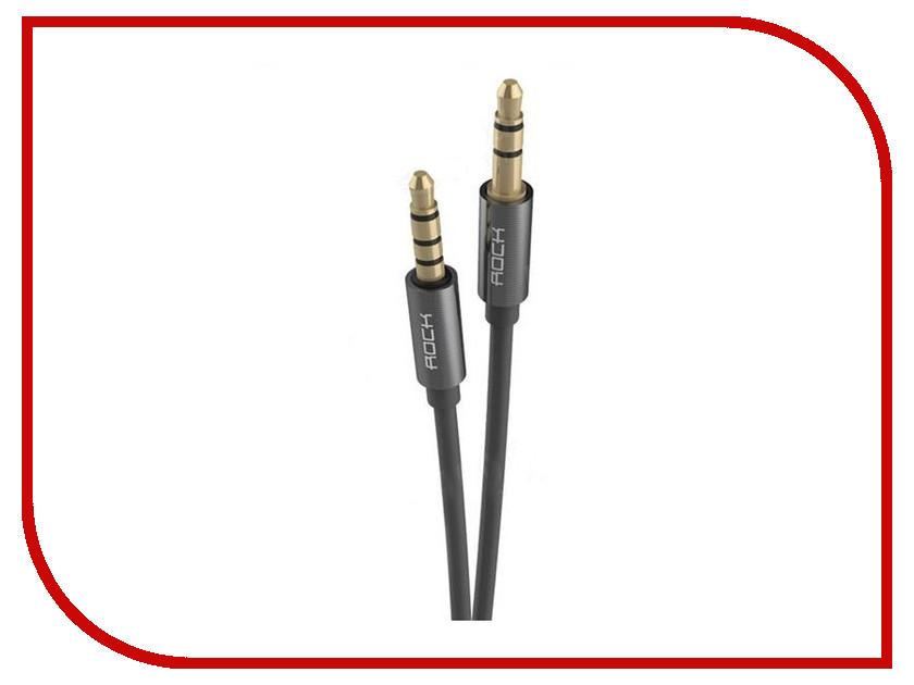 Аксессуар ROCK AUX 3.5mm Audio Cable RAU0513 Space Grey