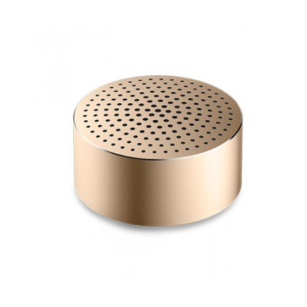 Колонка Xiaomi Mi Portable Round Box Gold