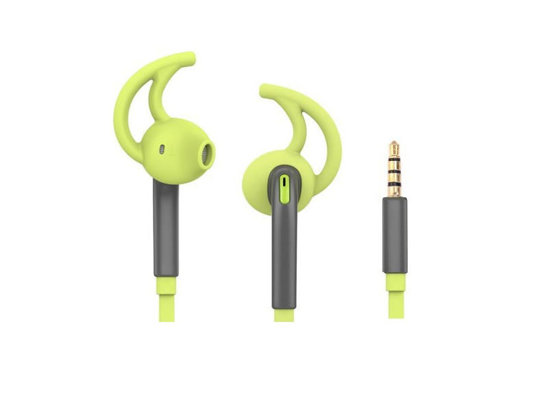 ��������� ROCK Mucu Stereo Earphone RAU0515 Yellow-Green