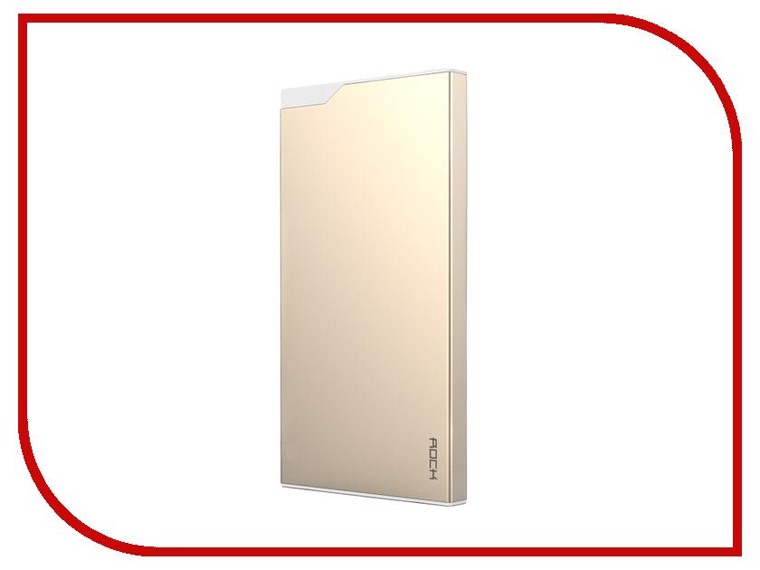 Аккумулятор ROCK Type-C Power Bank 5000 mAh Golden RMP0310<br>