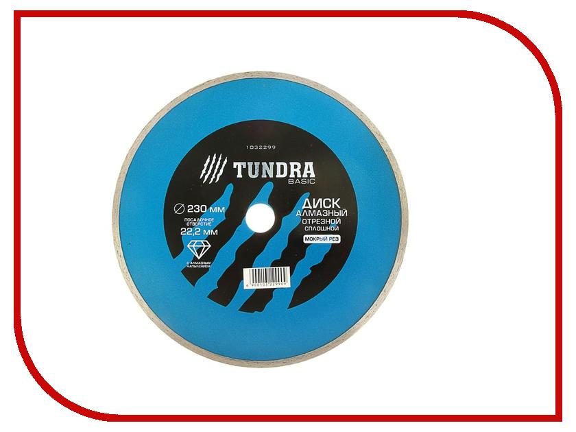 Диск Tundra 1032299 алмазный отрезной, по бетону, кирпичу, металлу, 230x22.2mm<br>