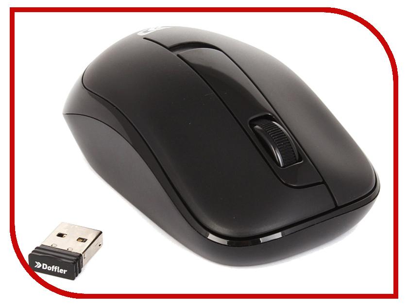 Мышь беспроводная Doffler WM401 Black doffler gm7000 игровая мышь