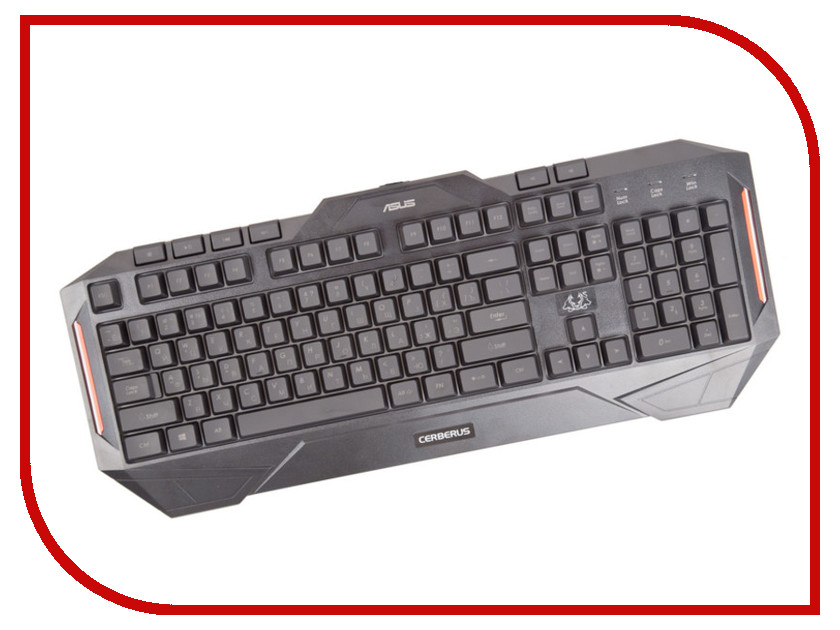 Клавиатура ASUS Cerberus Gaming Keyboard italian keyboard for asus u38 u38d u38dt it laptop keyboard backlight palmrest cover