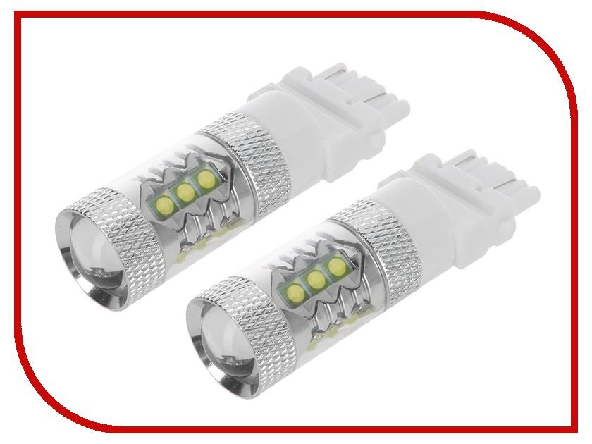 Лампа Gofl 3157 (P27/7W) 80W CREE 3102 (2 штуки)<br>