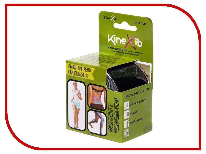 Ортопедическое изделие Kinexib 5m x 5cm Black<br>