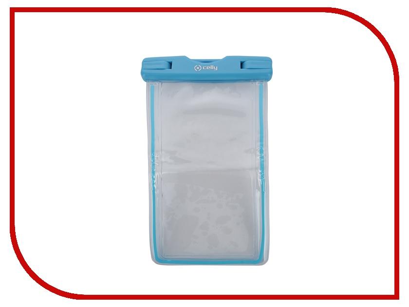 Аксессуар Чехол Celly Splash универсальный XL Blue WPCBAGXL03<br>