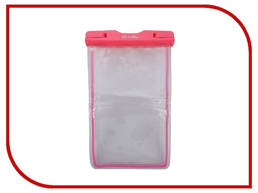 Аксессуар Чехол Celly Splash универсальный XL Pink WPCBAGXL02<br>