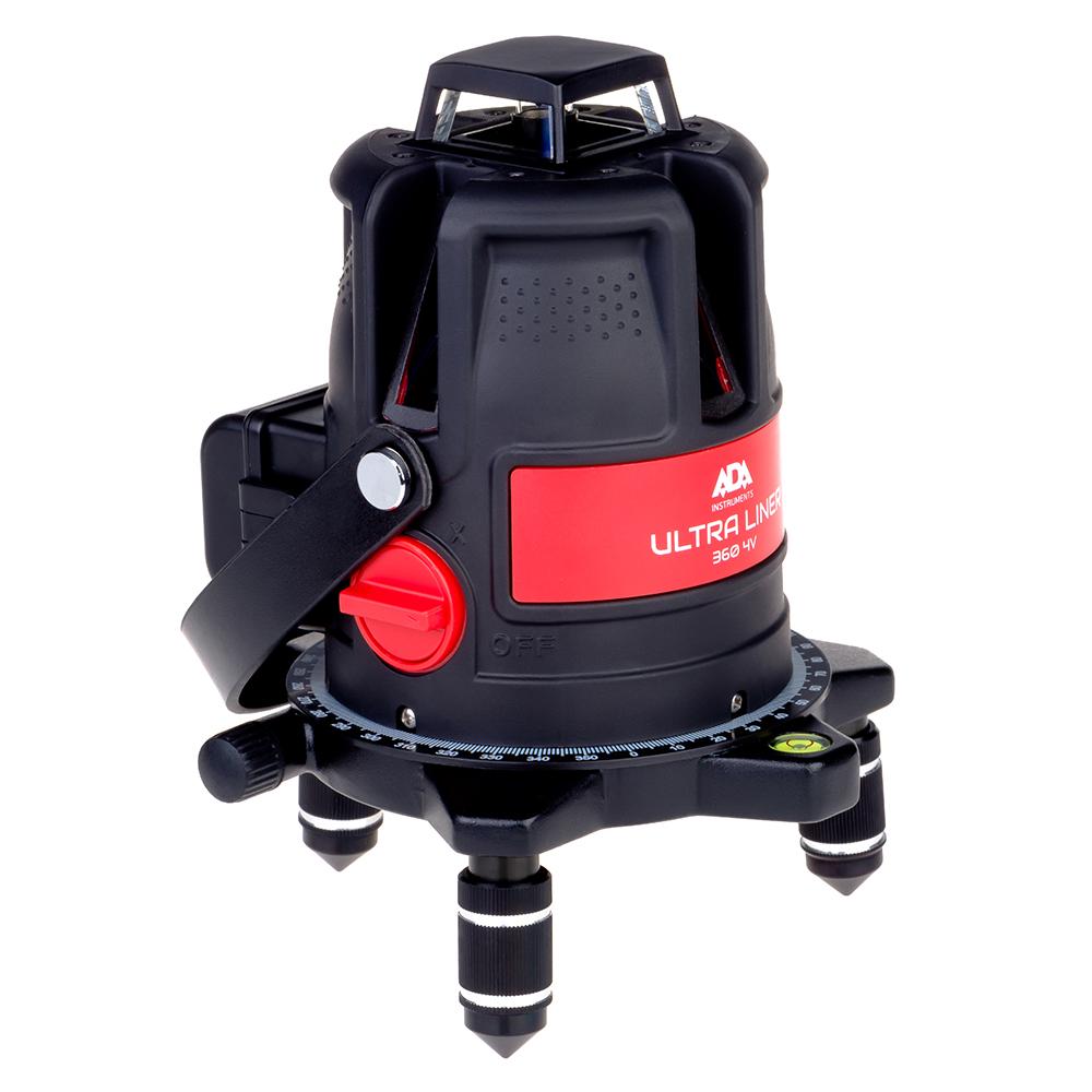 Нивелир ADA Ultra Liner 360 4V Set А00477 лазерный нивелир ada ultraliner 360 4v