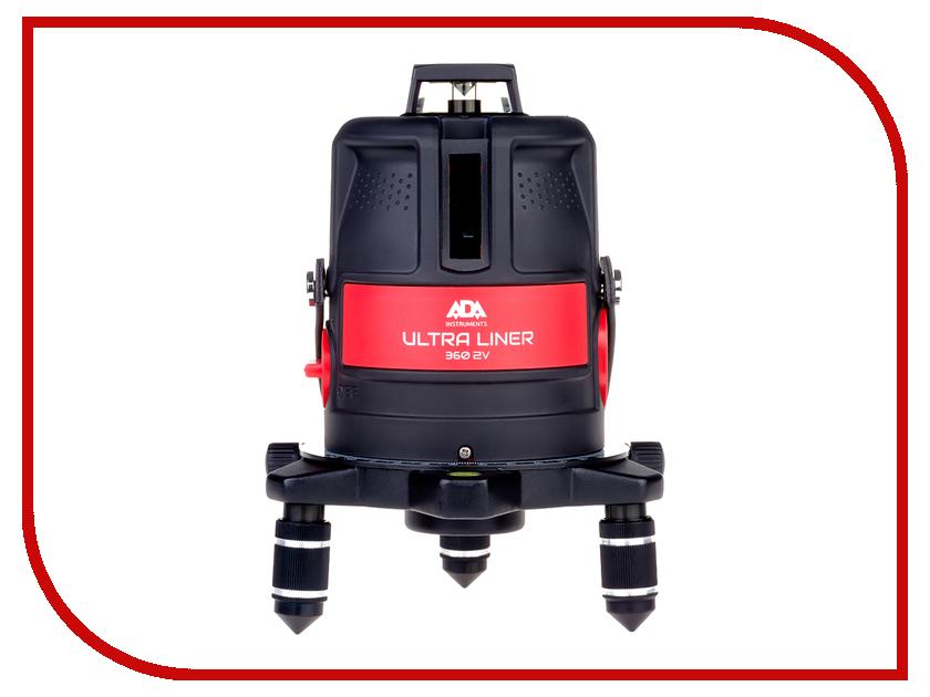Нивелир ADA Ultra Liner 360 2V нивелир ada ultra liner 360 2v