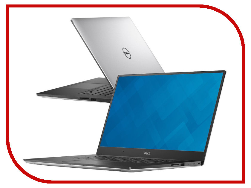 Ноутбук Dell Precision 5510 5510-9594 (Intel Core i5-6300HQ 2.3 GHz/8192Mb/256Gb SSD/nVidia Quadro M1000M 2048Mb/Wi-Fi/Bluetooth/Cam/15.6/1920x1080/Windows 7 64-bit) 360224<br>