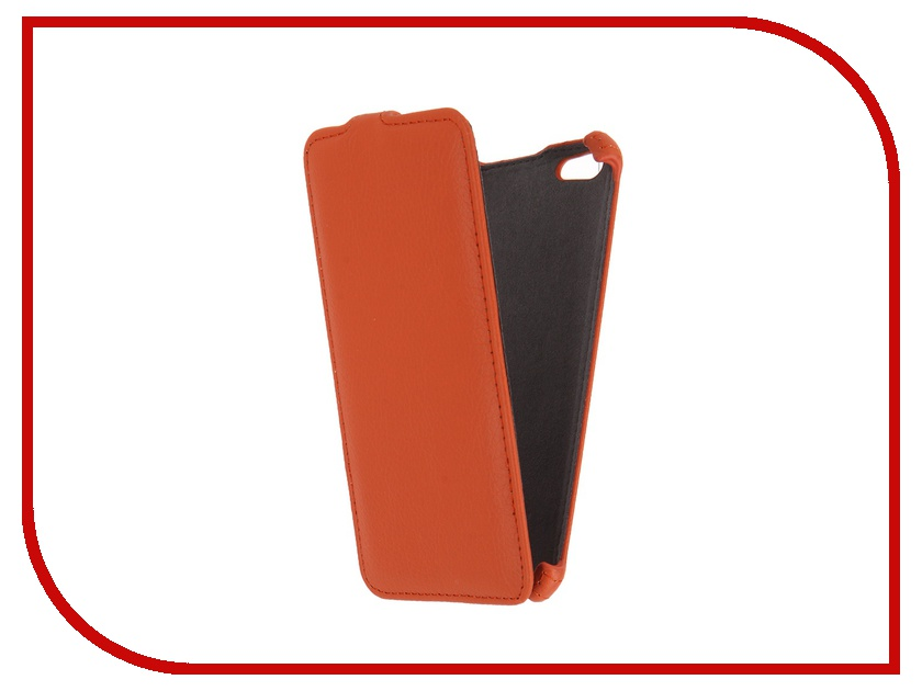 Аксессуар Чехол Gecko для iPhone 6 Plus Orange GG-F-IP6P-OR