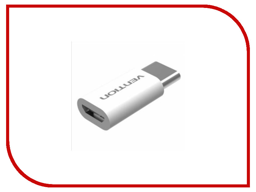 Аксессуар Vention USB Type C M - USB 2.0 Micro B 5pin F White VAS-S10-W аксессуар vention usb am dc jack 3 5 m 80cm vas a66 b080