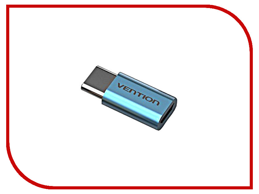 Аксессуар Vention USB Type C M - USB 2.0 Micro B 5pin F Blue VAS-S10-S vention vas a09 micro usb to usb 2 0 female cable