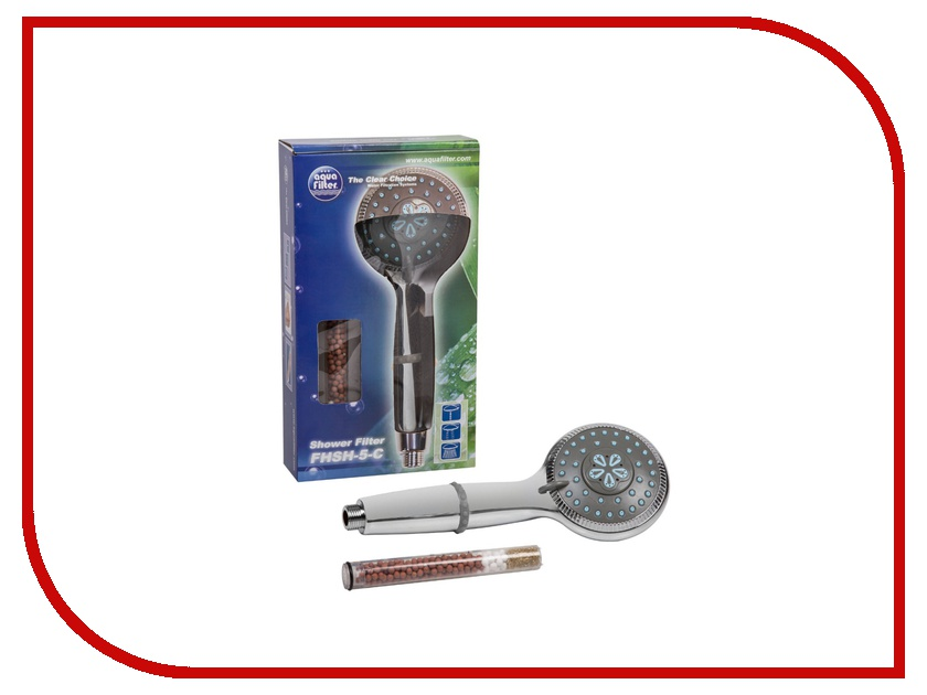Фильтр для воды Aquafilter FHSH-5-C фильтр для душа фильтр для воды aquafilter fhpra