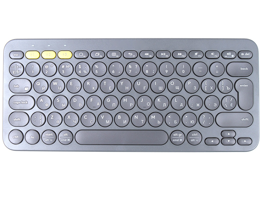 Клавиатура Logitech K380 Grey 920-007584