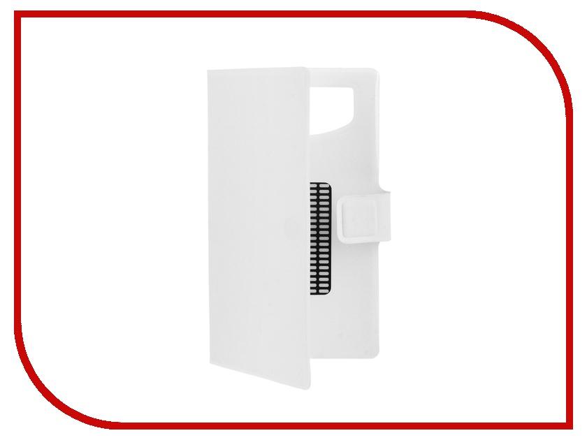 Аксессуар Чехол-книжка IQ Format горизонтальный универсальный XL White