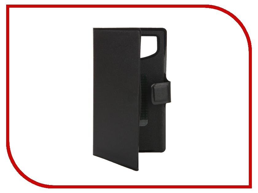 Аксессуар Чехол-книжка IQ Format горизонтальный универсальный L Black