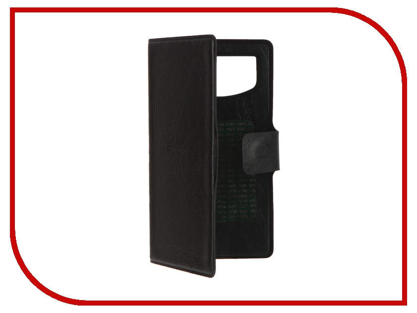 Аксессуар Чехол-книжка IQ Format горизонтальный универсальный S Black