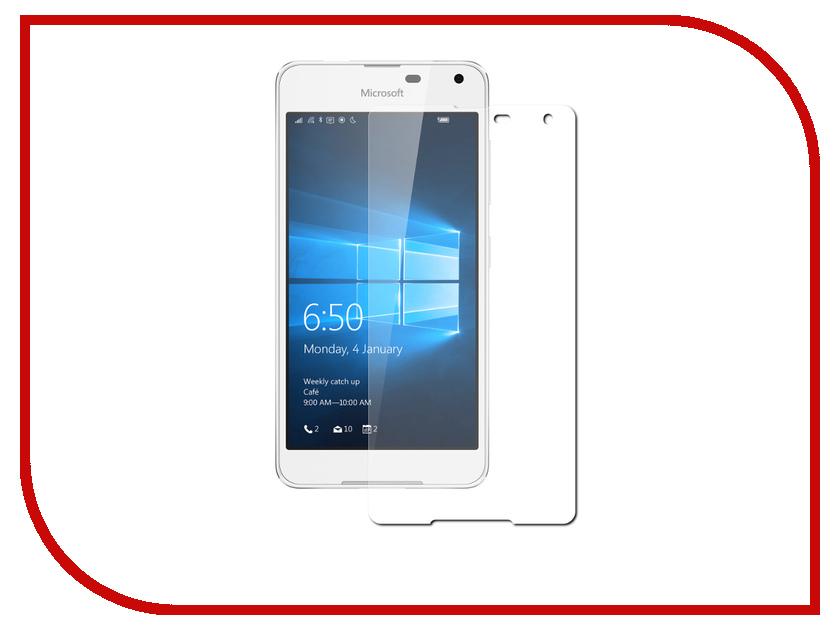 Аксессуар Защитное стекло Microsoft Lumia 650 Zibelino 0.33mm 2.5D ZTG-MCRST-650 аксессуар чехол microsoft lumia 650 cojess tpu 0 3mm grey