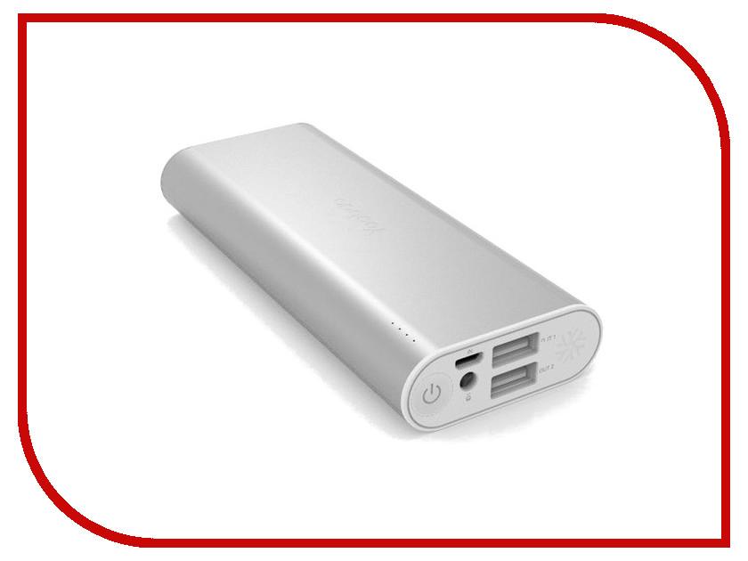Аккумулятор Yoobao I6 10400 mAh Silver<br>