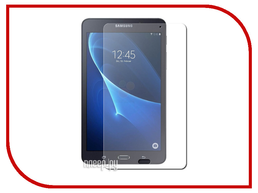 Аксессуар Защитное стекло Samsung Galaxy Tab A 7 T280 Zibelino 0.33mm 2.5D ZTG-SAM-T280-7 cake biscuit style protective flip open pu leather case w stand for iphone 4 4s white pink