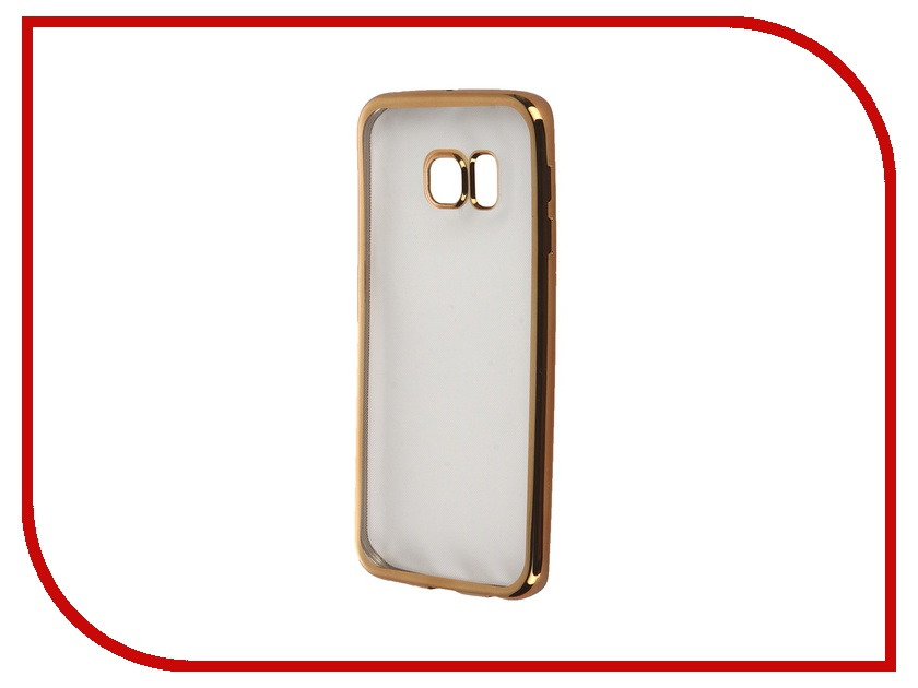 Аксессуар Чехол-бампер Samsung G925F Galaxy S6 Edge AUZER 0.3mm AC-SGS6EBGo
