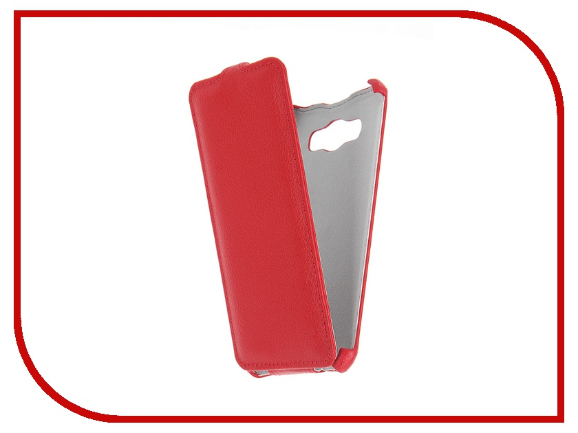 где купить  Аксессуар Чехол Samsung Galaxy J7 2016 Zibelino Classico Red ZCL-SAM-J7-2016-RED  дешево