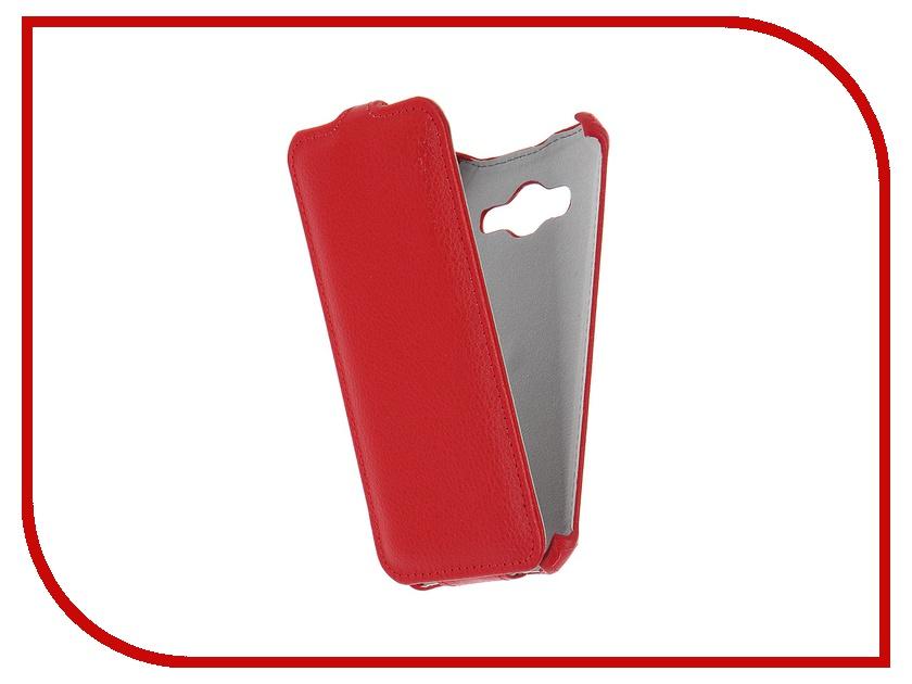 Аксессуар Чехол Samsung Galaxy J3 2016 SM-J320F Zibelino Classico Red ZCL-SAM-J3-2016-RED<br>