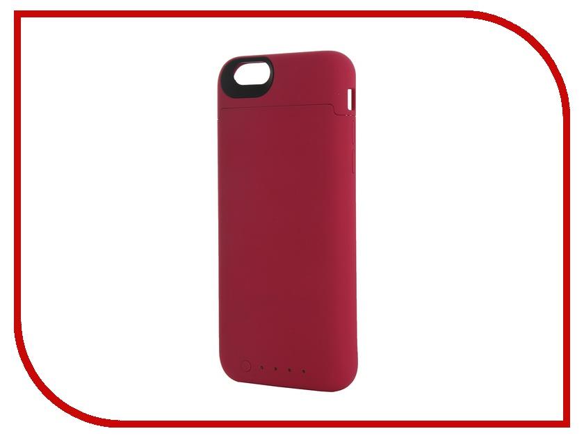 Аксессуар Чехол-аккумулятор Mophie Juice Pack Reserve 1840 mAh Pink для iPhone 6/6s 3369 аксессуар чехол аккумулятор krutoff x4 3800 mah для iphone 6 black 48186