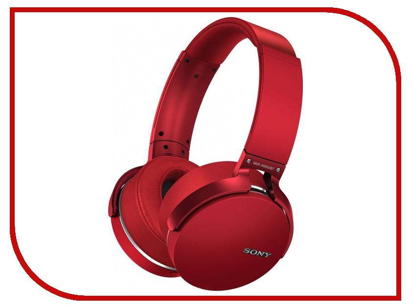 Гарнитура Sony MDR-XB950BT/R Red