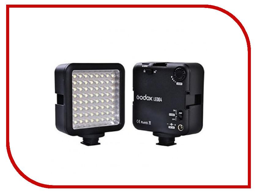 Накамерный свет Godox LED 64