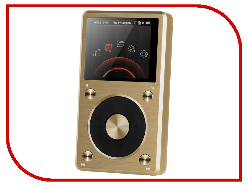 Плеер Fiio X5 II Gold Limited Edition<br>