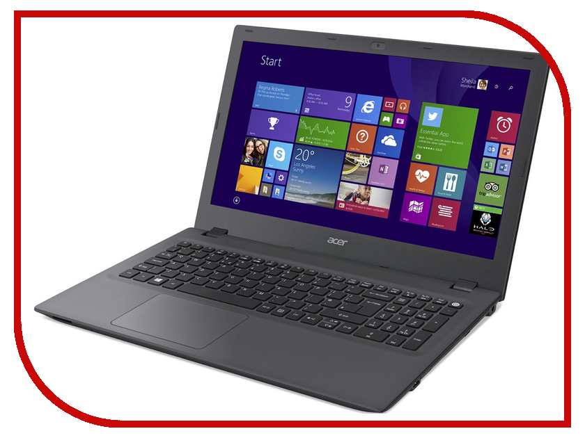 Ноутбук Acer Aspire E5-532-C43N Black-Grey NX.MYVER.017 (Intel Celeron N3050 1.6 GHz/4096Mb/500Gb/No ODD/Intel HD Graphics/Wi-Fi/Cam/15.6/1366x768/Windows 10 64-bit)