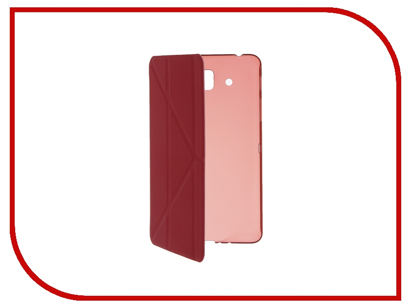 Аксессуар Чехол Samsung Galaxy Tab A 7 SM-T285/SM-T280 IT Baggage Ultrathin Red ITSSGTA7005-3 аксессуар чехол samsung galaxy tab a 7 sm t285 sm t280 it baggage ultrathin red itssgta7005 3