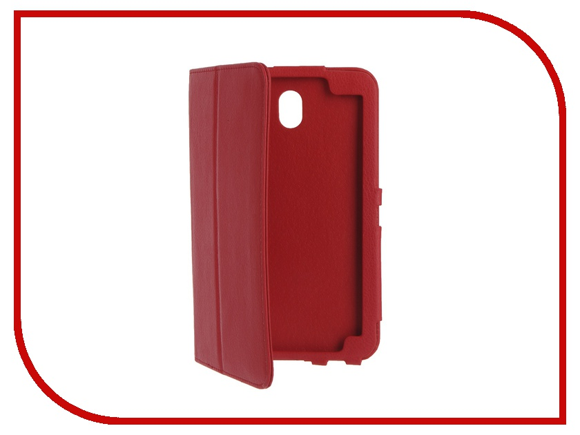 Аксессуар Чехол IT Baggage for Samsung Galaxy Tab A 7 SM-T285/SM-T280 иск.кожа Red ITSSGTA70-3 аксессуар чехол samsung galaxy tab a 7 sm t285 sm t280 it baggage ultrathin red itssgta7005 3