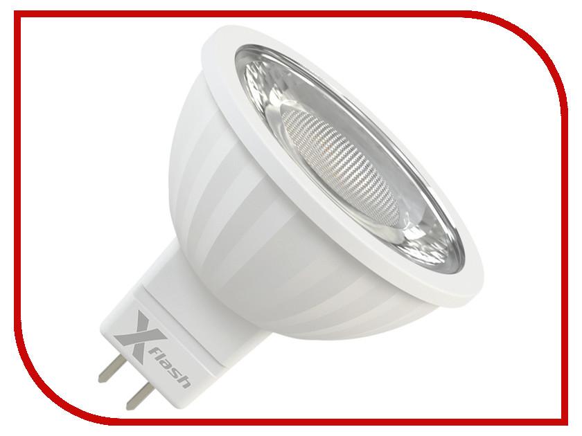 Лампочка X-flash XF-MR16-P-GU5.3-8W-3000K-220V 47277 встраиваемый светодиодный светильник x flash xf slsr p 70 8w 3000k 220v арт 46621